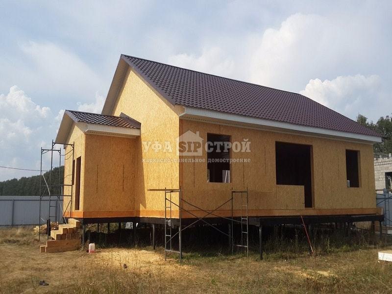 Строительство индивидуального жилого дома из сип панелей в Уфе