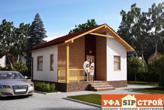 Проект дома из СИП панели «Чесноковка»