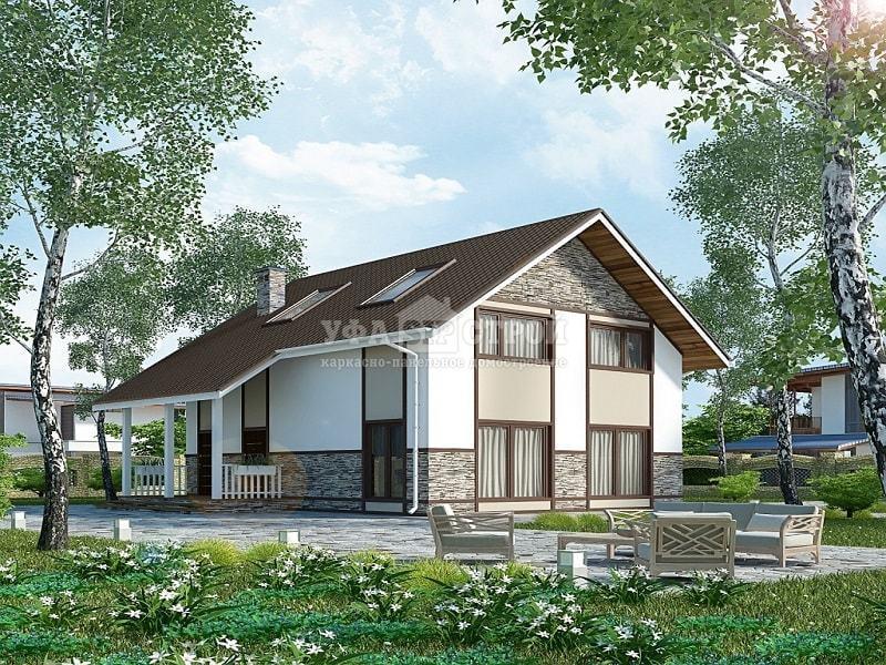 Проект дома из Сип панелей Уют