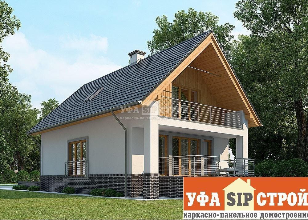 Проект дома из СИП панели «Мелеуз»