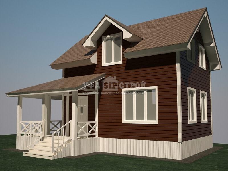 Проект дома из Сип панелей Ларенто