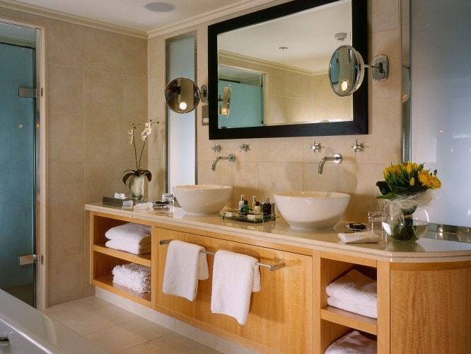 Ванная комната в доме из СИП панелей